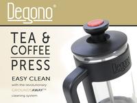 Degono: The Revolutionary Tea & Coffee Press