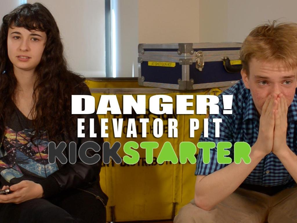 Danger! Elevator Pit - A Short Film about Alt Rock and Angst's video poster