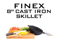 "FINEX 8"" Cast Iron Skillet: A 21st Century Heirloom"