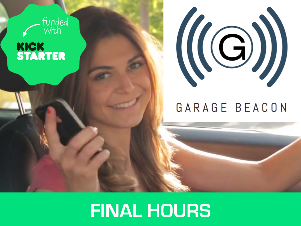 Garage Beacon - Turn your phone into a garage door remote's video poster