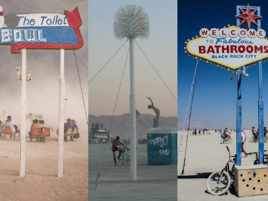 Burning Man Bathroom Beacons 2014's video poster