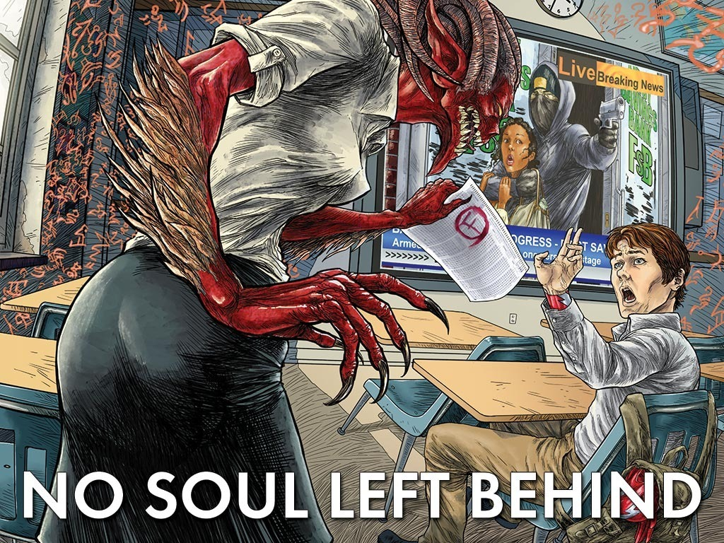No Soul Left Behind's video poster