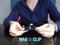MagClip: Tame Wild Earbud Wires & Untangle Your Life
