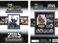 MacLeod Dragons 11x17 Limited Edition Calendar