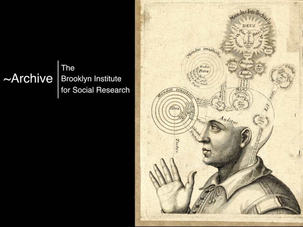 ~Archive: a Knowledge Tool by the Brooklyn Institute's video poster