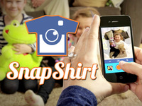 SnapShirt - Turn your photos into all-over print clothing!