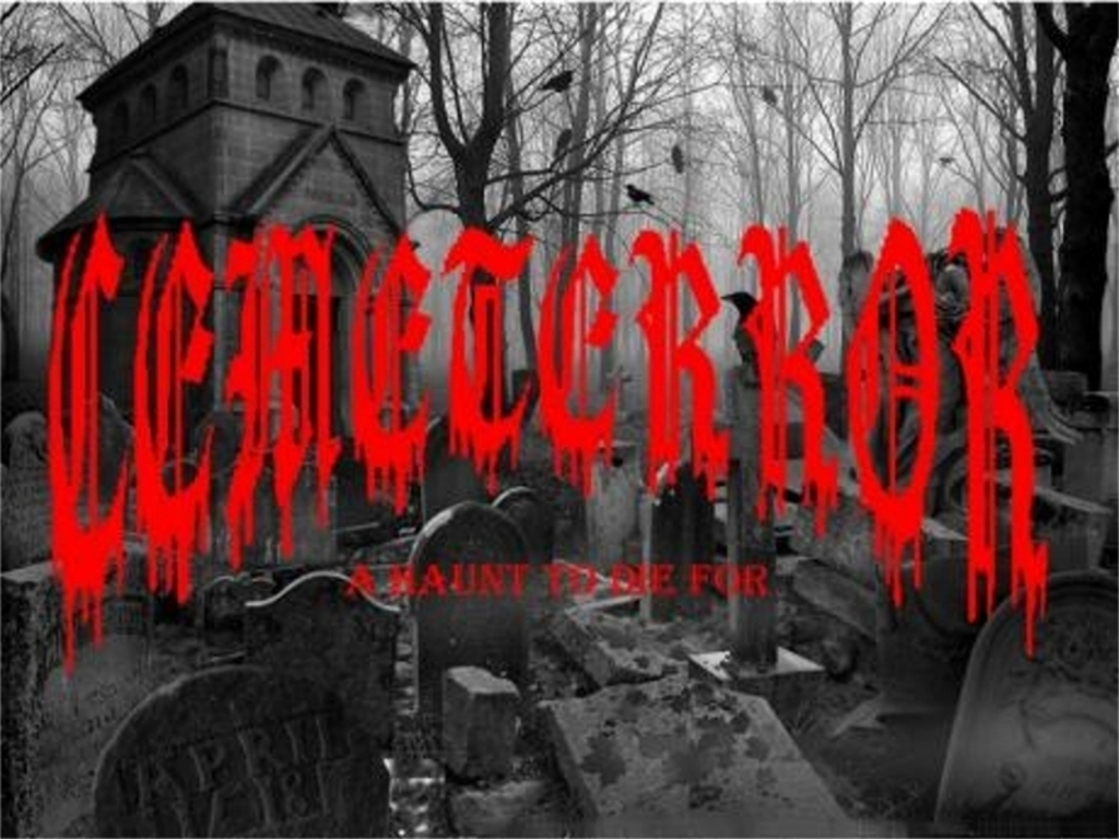 CEMETERROR YARD HAUNT's video poster