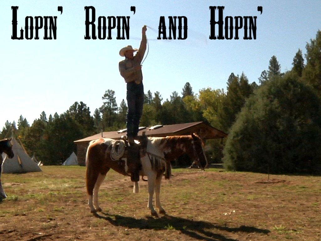 Lopin' Ropin' and Hopin''s video poster