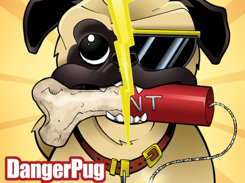 Danger Pug: a comic for kids rated PuG's video poster