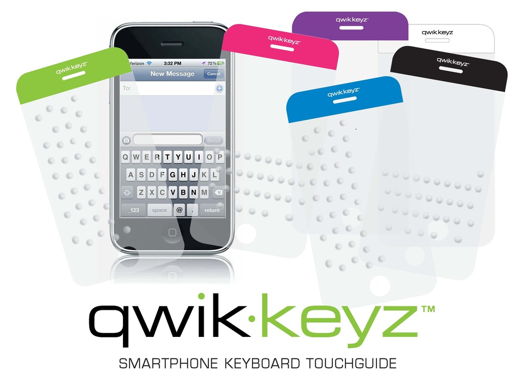 qwik-keyz™: Keyboard TouchGuide for the iPhone's video poster