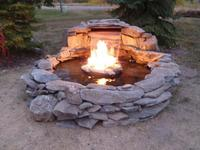 Fountain Fireplace