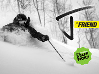 The Friend - New award winning powder ski by J skis