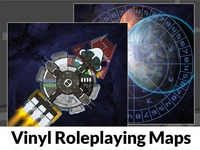 Vinyl Roleplaying Maps