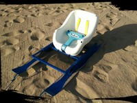 SandStroller™ Training sled for mom, dad & kids health