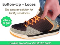 Shnap + Laces: Button-Up Laces and Quit Tying Knots!