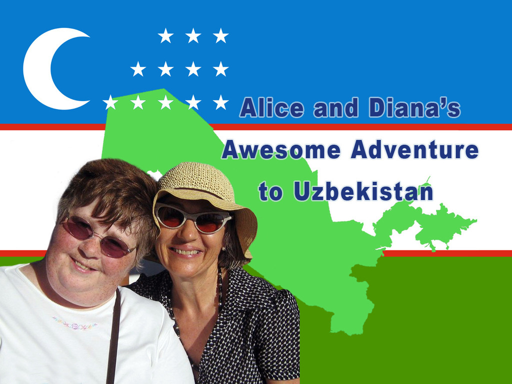 Alice and Diana's Awesome Adventure to Uzbekistan's video poster