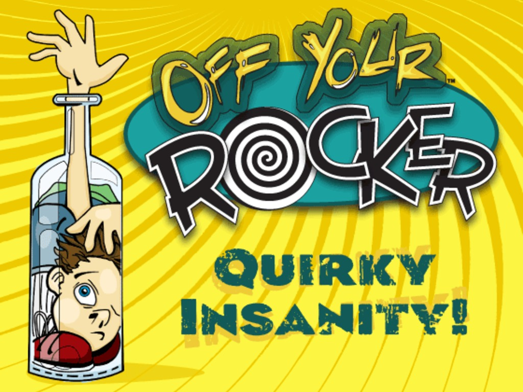 Off Your Rocker: The Party Game of Quirky Insanity!'s video poster