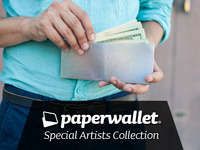 Paperwallet - A super thin tyvek wallet designed by artists