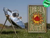 """The Sun Juicer""  Ultralight Parabolic Solar Cooker"
