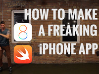 How to Make a Freaking iPhone App - with iOS 8 and Swift