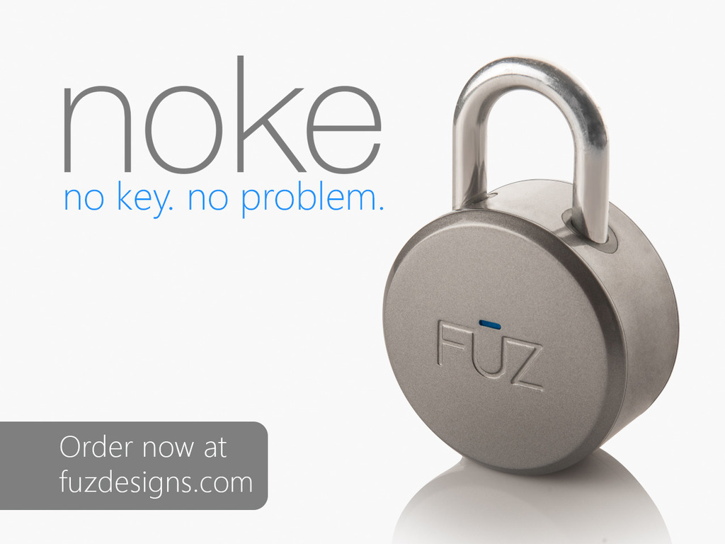 Noke: The World's First Bluetooth Padlock's video poster