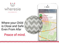 Wheresie: Wearable child safety clip + app can save lives
