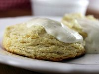 Fabulous, low fat, and amazingly tasty biscuits and gravy!