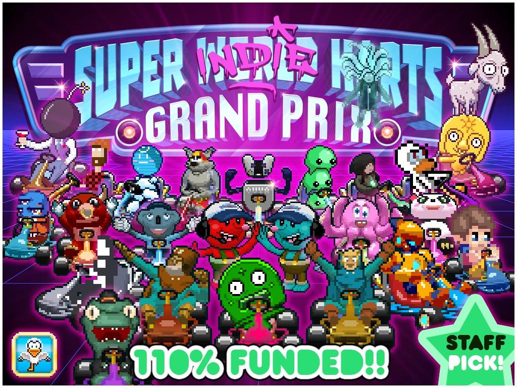 Super World Karts - Indie Kart AllStars! - PC / Mac / OUYA's video poster