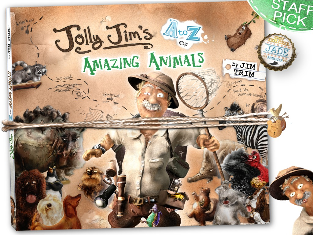 Jolly Jim's A-Z of Amazing Animals's video poster