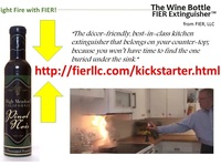 The Wine Bottle FIER Extinguisher