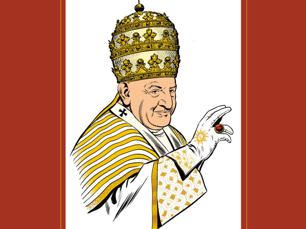 The Story of Pope John XXIII illustrated by Joe Sinnott's video poster