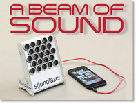 "Soundlazer ""Snap"" - The Directional Parametric Speaker"