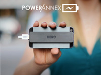 Power Annex - Adhesive, Slim Profile External Battery