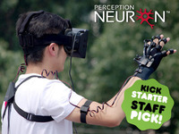 Project PERCEPTION NEURON:  Motion Capture, VR and VFX