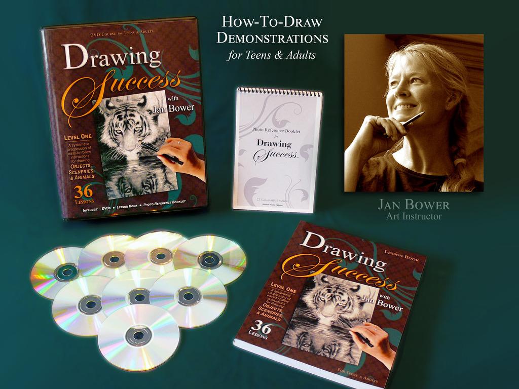 Drawing Success - Jan Bower's DVD Art Instruction's video poster