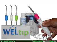 WELtip - Toothpaste Delivery System for your Water Flosser