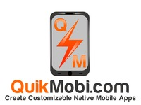 QuikMobi Creating Customizable Native Mobile Apps