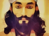 Colorful beards from around the world.