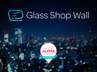 Glass Shop Wall - Step Into the Future