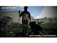 Love Michigan. Love Football. Plant Gardens. #EATING Project