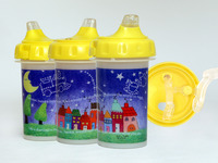 Poli Easy-to-Clean Toddler Sippy Cups