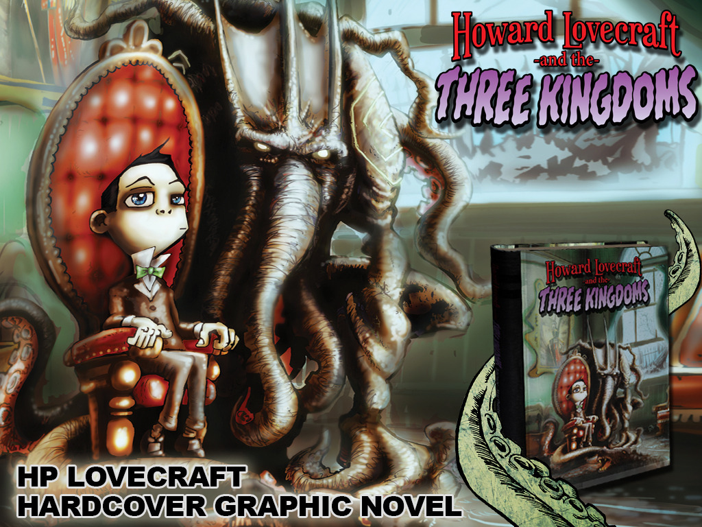 Howard Lovecraft & the Three Kingdoms Hardback Graphic Novel's video poster
