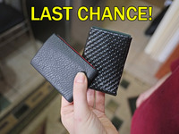 NERO: RFID Blocking Leather Wallet - 10 Years Guarantee