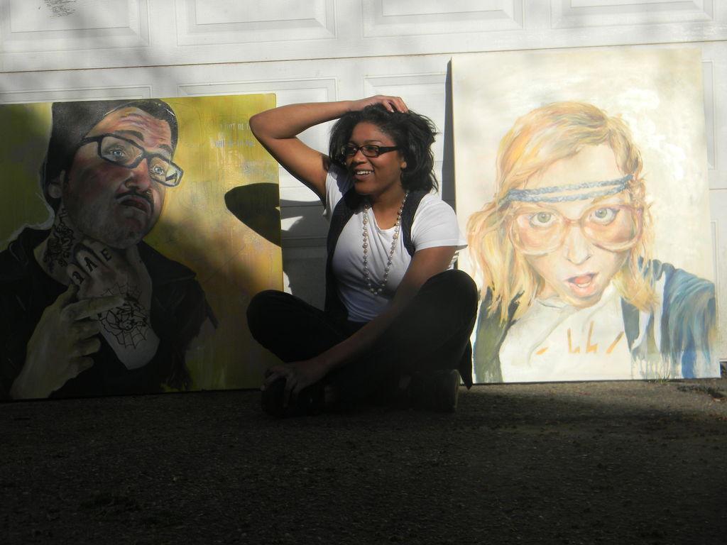 Help me get to Flint Art Fair + Chicago RAW: Artist's video poster