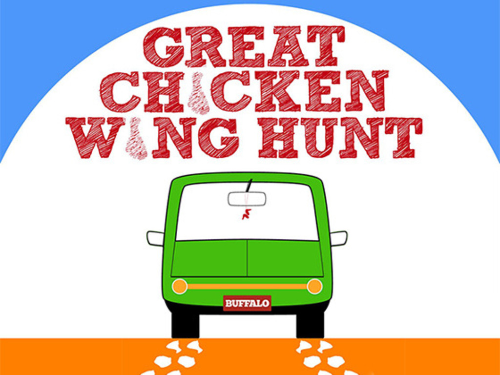 THE GREAT CHICKEN WING HUNT's video poster