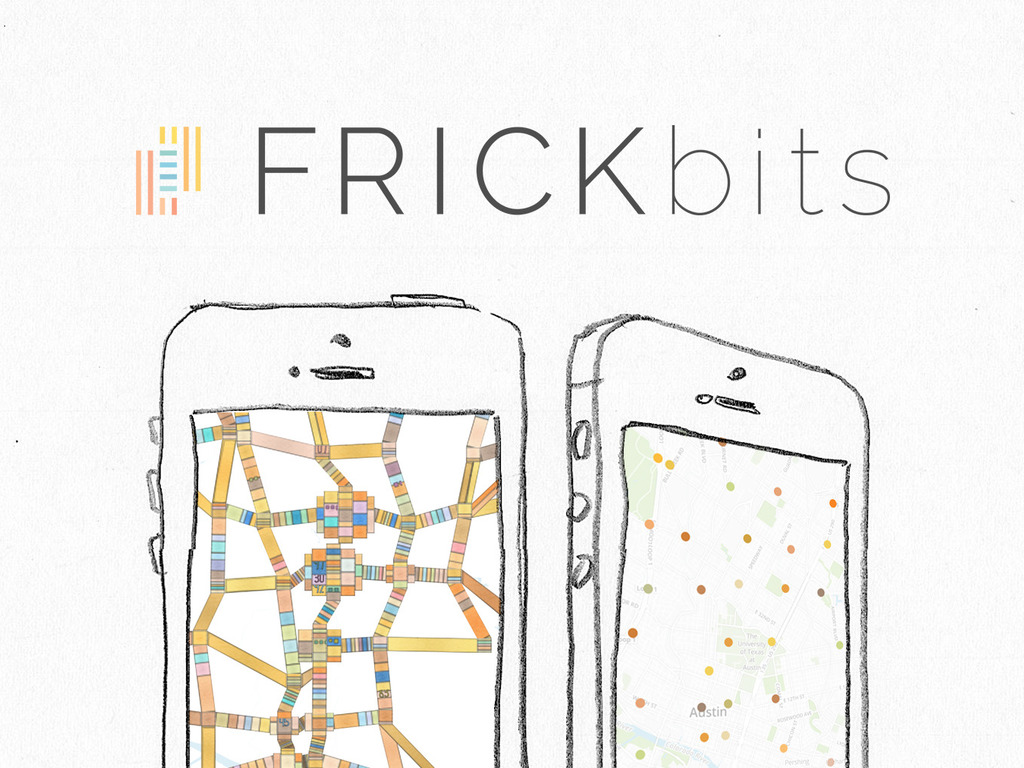 FRICKbits: your data is now art on your iphone's video poster