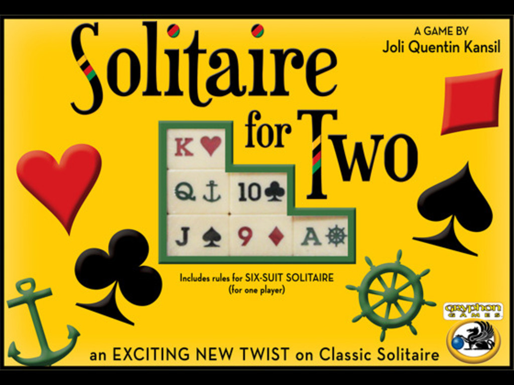 Solitaire for Two - Solitaire With a Twist's video poster