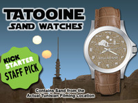 The Coolest Tatooine Sand Watches