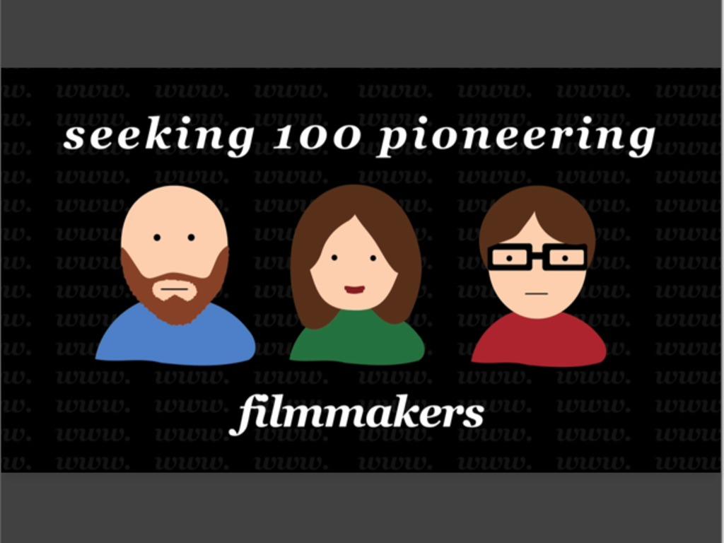 OpenIndie: 100 pioneering filmmakers embrace modern cinema's video poster
