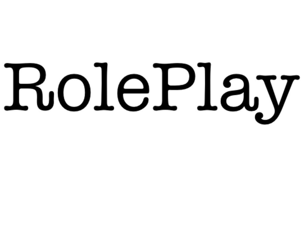 """""""RolePlay"""" - A Short Comedy Film's video poster"""